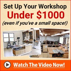 Ultimate small shop - setup your woodworking shop on a budget