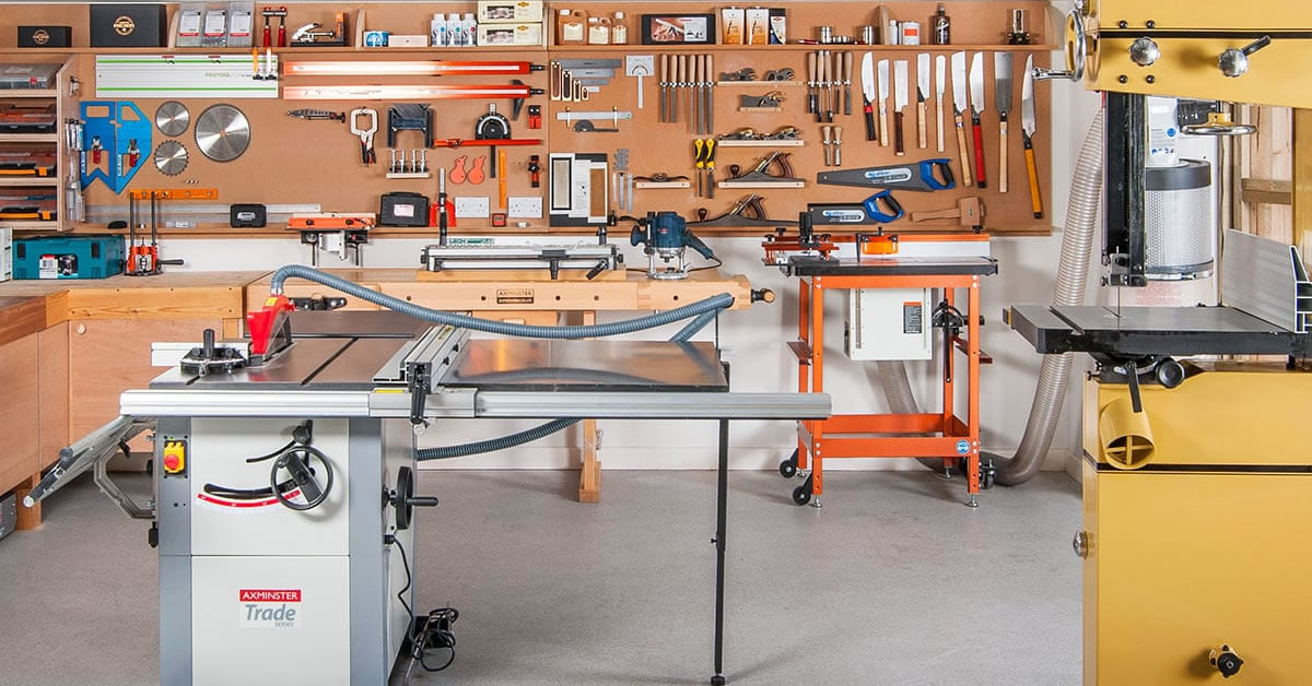 How To Set Up A Fully Equipped Small Woodworking Workshop For Under 1000