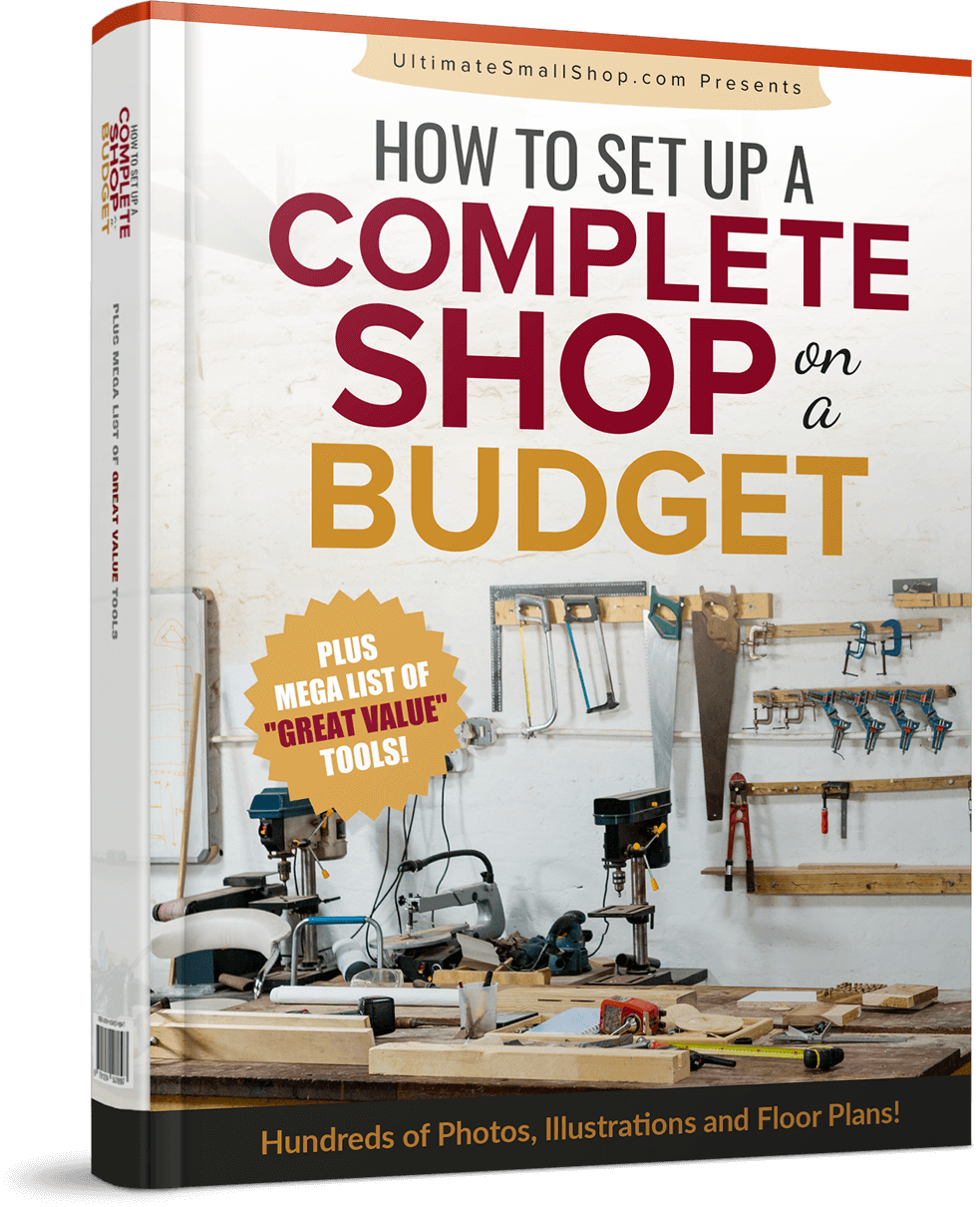 how to setup woodworking shop on budget
