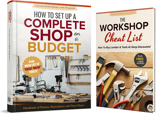 how to setup a workshop in a garage or anywhere else