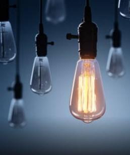 plusieurs ampoules allumées