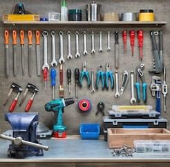 image d'un tableau d'outil