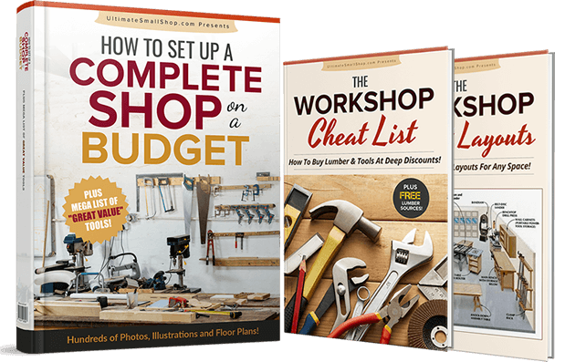 How To Set Up A Fully Equipped Small Woodworking Workshop For Under