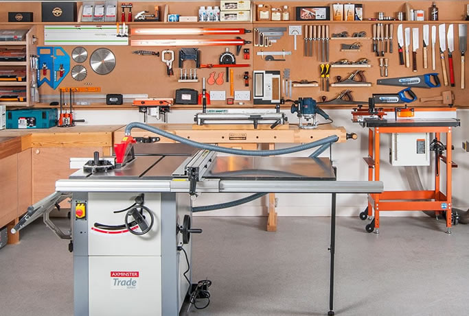 setting up a woodworking shop on budget