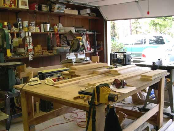 setup a garage workshop