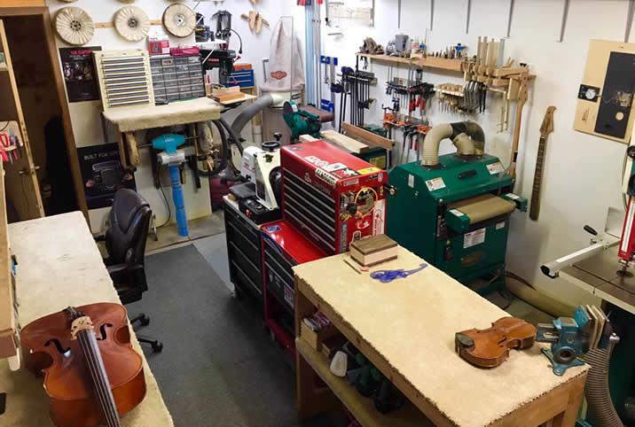 La conception de la boutique d'Andy lui donne le flux de travail qu'il a toujours voulu - pour plus de productivité!